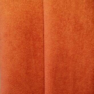 Замша Ярко оранжевая