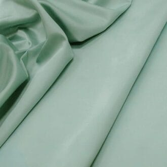 Ткань блэкаут атлас бирюзового цвета