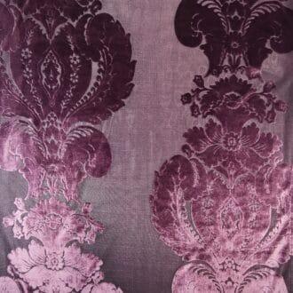 Панбархат с рисунком Фиолетовый