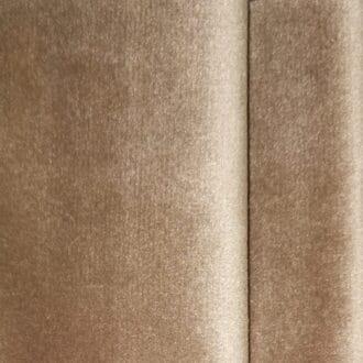 Ткань бархат цвета айвори