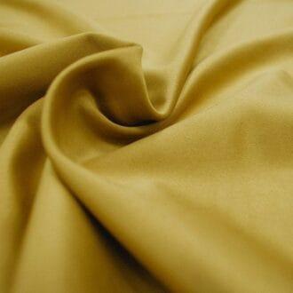 Ткань атлас темно-золотая