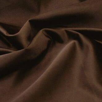 Ткань атлас коричневая