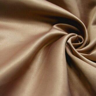 Ткань атлас цвета капучино
