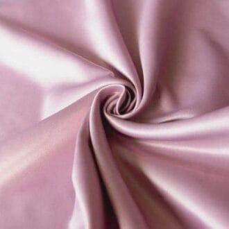 Ткань атлас розовая