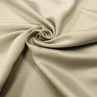 Ткань атлас серо-стального цвета