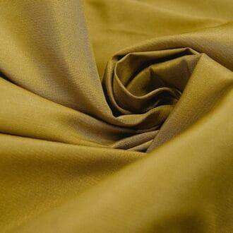 Ткань атлас темное-золото