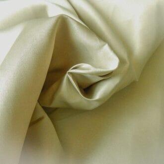 Ткань атлас бежево-золотистый