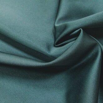 Ткань атлас нефритовая однотонная