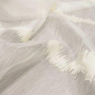 Вуаль Белая с Рисунком