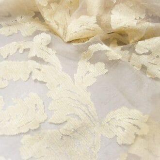 Вуаль с рисунком песочный цвет