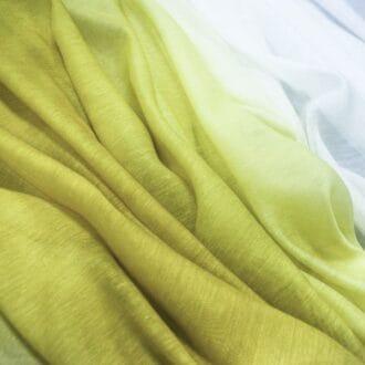 Вуаль Омбре Лимонного цвета для штор
