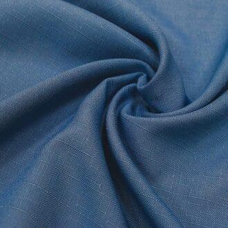 Жаккард синего цвета