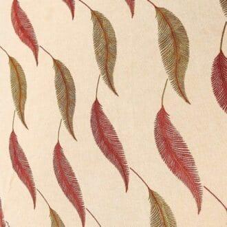 Жаккард с рисунком пёрышки
