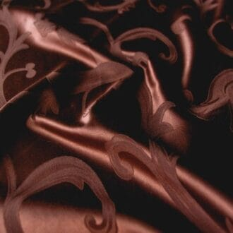 Ткань атлас шоколадного цвета