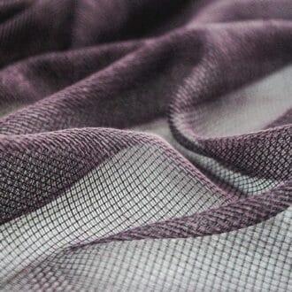 Сетка мелкая фиолетового цвета