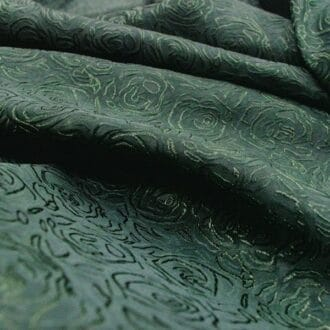 Жаккард зелёный