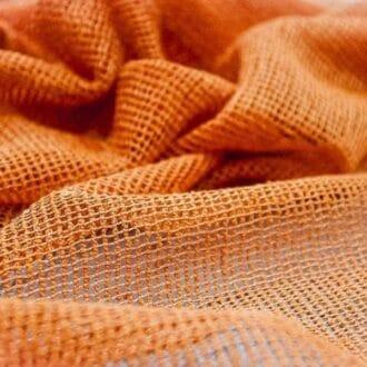 Сетка мелкая оранжевая