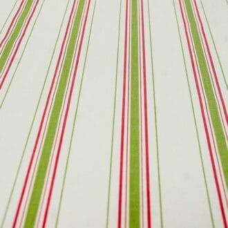 Жаккард с зелено-розовыми полосками