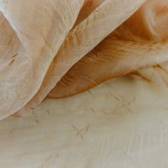 Органза-жатка коричневая