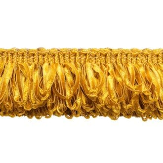 бахрома для штор жёлтого цвета