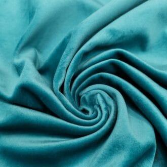 Ткань для мебели бархат бирюзовый