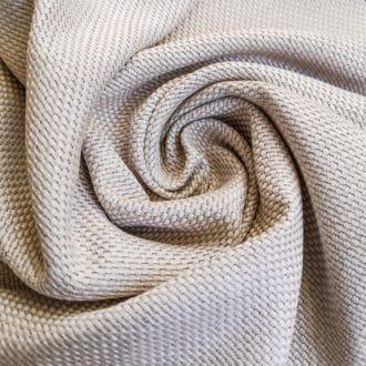 Рогожка блэкаут кремового цвета