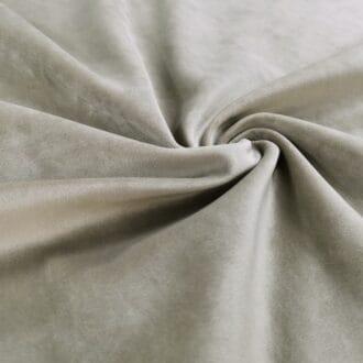 Бархат для мебели серый
